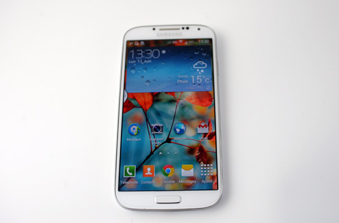 Samsung Galaxy S4 : vue d'ensemble