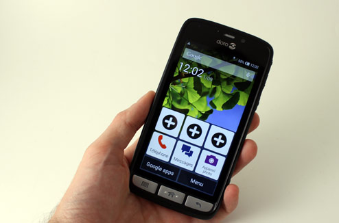 doro liberto 820 le smartphone des seniors darty vous. Black Bedroom Furniture Sets. Home Design Ideas