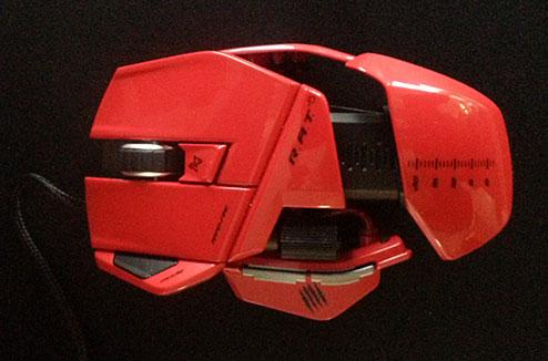 Souris Gamer R.A.T 5 Cyborg MadCatz design