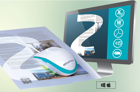 Souris scanner iriscan mouse executive 2 : illustration