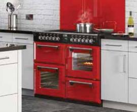 Un piano de cuisson dans une micro cuisine possible darty vous - Piano de cuisson rouge ...