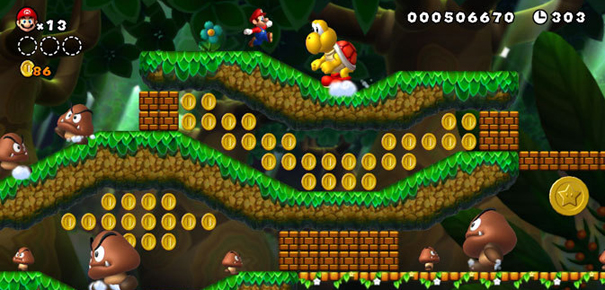 New Super Mario Bros. Wii de Nintendo