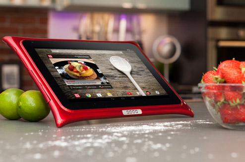 qooq une tablette l 39 preuve de votre cuisine darty vous. Black Bedroom Furniture Sets. Home Design Ideas