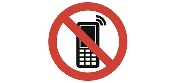 Téléphone mobile avec sonnerie en silencieux