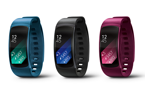 Bracelet connecté Gear Fit 2 de Samsung