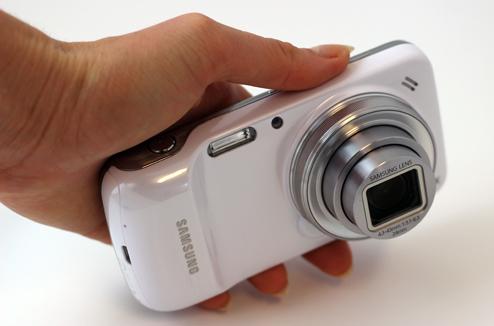 Test du smartphone / appareil photo Samsung