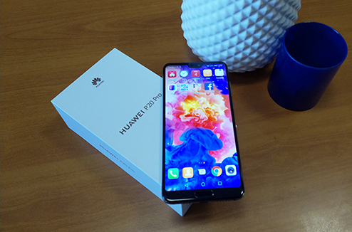 Test du smartphone Huawei P20 pro
