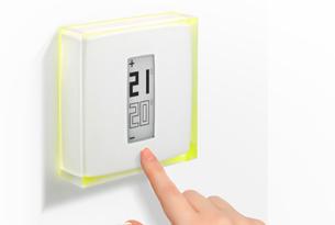 Thermostat connect contr ler son chauffage distance darty vous - Temperature maison hiver ...
