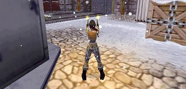 Gameplay Tomb Raider 2000