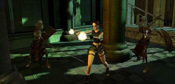 Gameplay Tomb Raider 2003