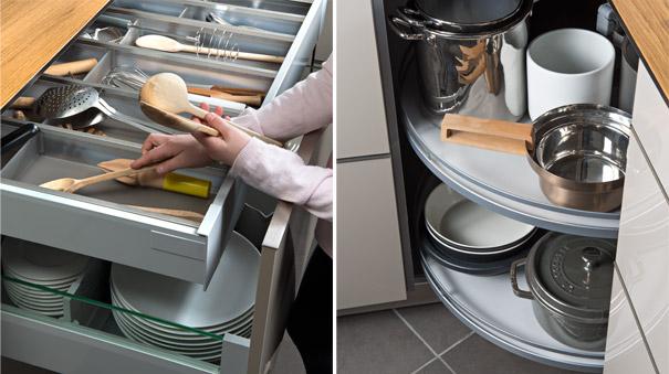 Meubles de cuisine meubles de cuisines - Comment bien ranger une cuisine ...