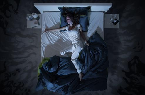 je transpire en dormant