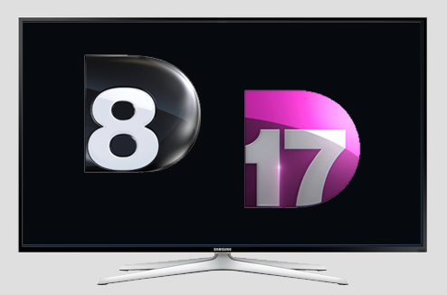 TV : les chaînes D8 et D17