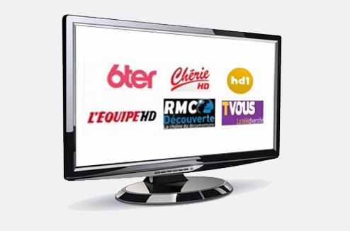Les 6 nouvelles chaînes de la TNT