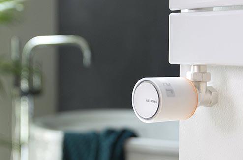 Gérer son chauffage avec les vannes connectées Netatmo