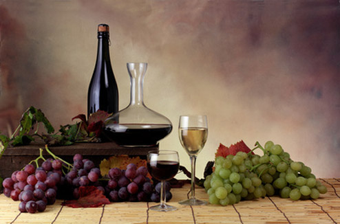 vin nature morte
