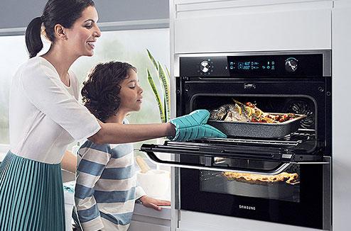 Le four Dual Cook Flex de Samsung