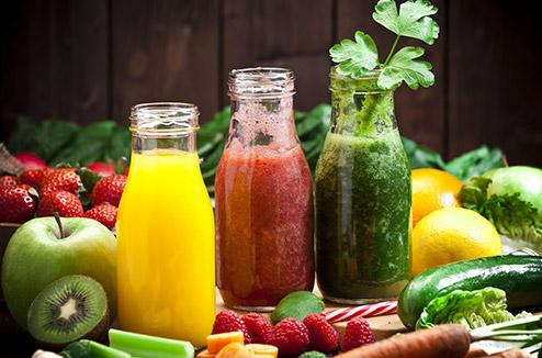 Des légumes frais à boire