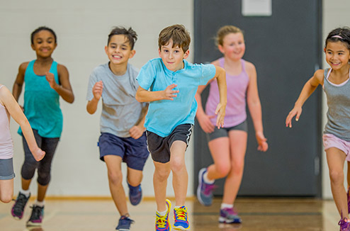 Les enfants ont besoin de faire du sport