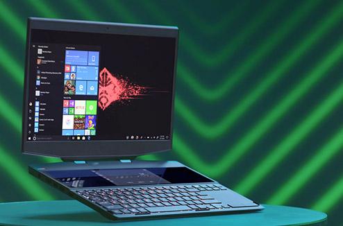 Omen X un PC portable, deux écrans