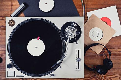 Le vinyle connecté