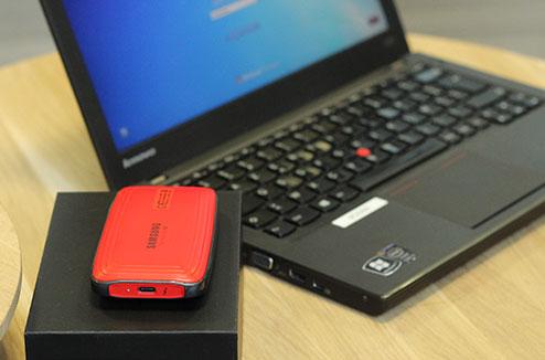 Le nouveau disque dur SSD Samsung X5