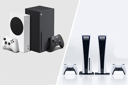 xbos serie et ps5