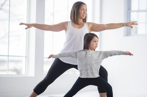 Le yoga avec les enfants