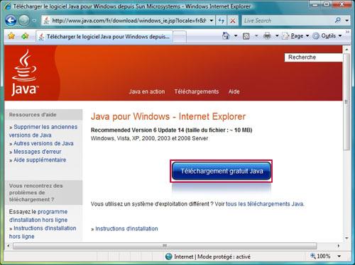 Dartybox internet haut d bit et tr s haut d bit for Fenetre java