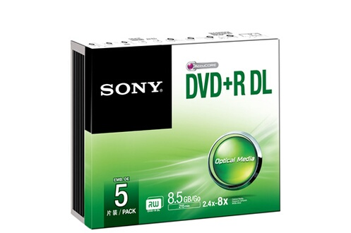 CD / DVD / Blu-Ray Sony DVD-R + DL 8.5 GO