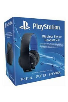 Accessoires PS4 Sony CASQUE PLAYSTATION 4