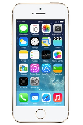 iPhone reconditionné Apple IPHONE 5S 16GO OR RECONDITIONNE