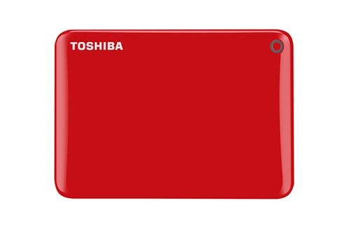 DISQUE DUR / CLé USB TOSHIBA CANVIO CONNECT II 500 GB RED