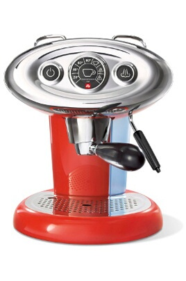 Expresso Illy X7.1 ROUGE 6604