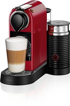 Expresso Krups NESPRESSO CITIZ AND MILK YY2730 ROUGE