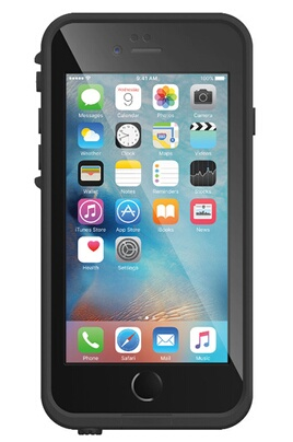 Coque iPhone Lifeproof COQUE DE PROTECTION NOIRE LIFEPROOF FRE POUR IPHONE 6S