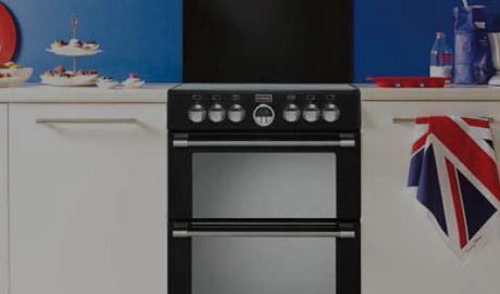 Cuisinière Vitrocéramique Electrolux EKCOW Darty - Cuisiniere vitroceramique avec four pyrolyse pour idees de deco de cuisine