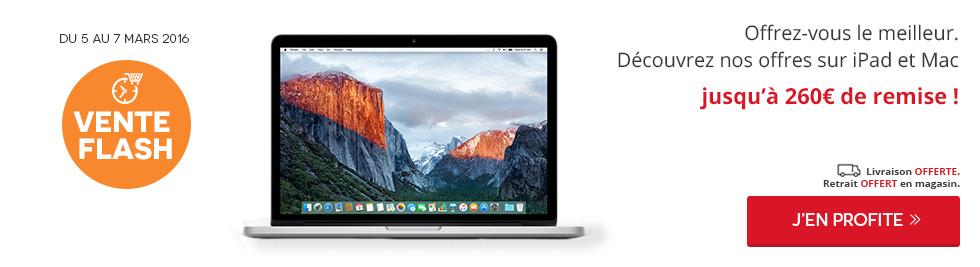 100 vente flash apple du 05 au 07 mars darty - Vente flash definition ...