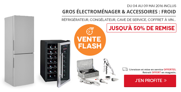 Gros electrom nager - Vente flash electromenager discount ...