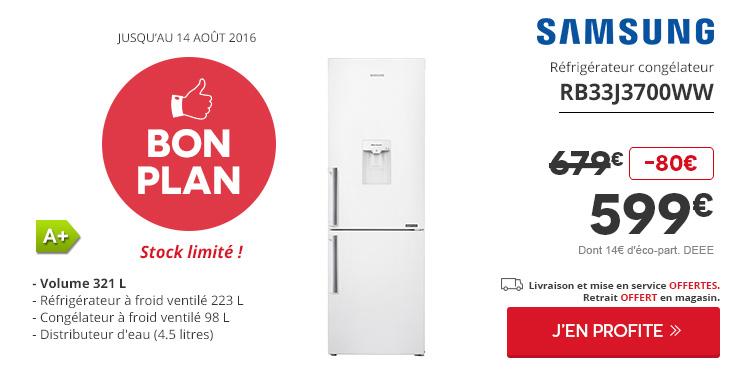 plans en micro ondes Bon Plan Samsung Réfrigérateur congélateur
