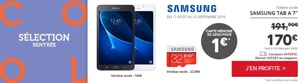nav achat informatique tablette tactile marque  samsung SAMSU