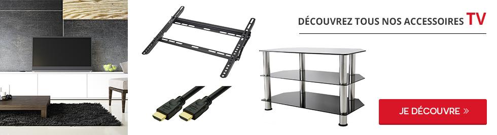 tout le choix darty en accessoire pour support tv darty. Black Bedroom Furniture Sets. Home Design Ideas