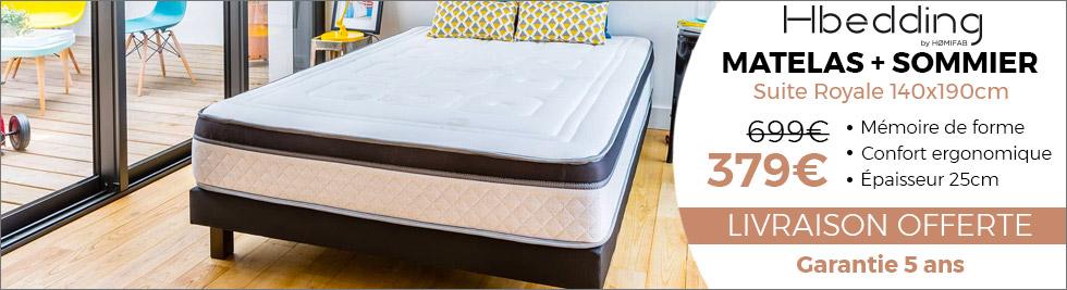 ensemble matelas et sommier memorypur darty. Black Bedroom Furniture Sets. Home Design Ideas