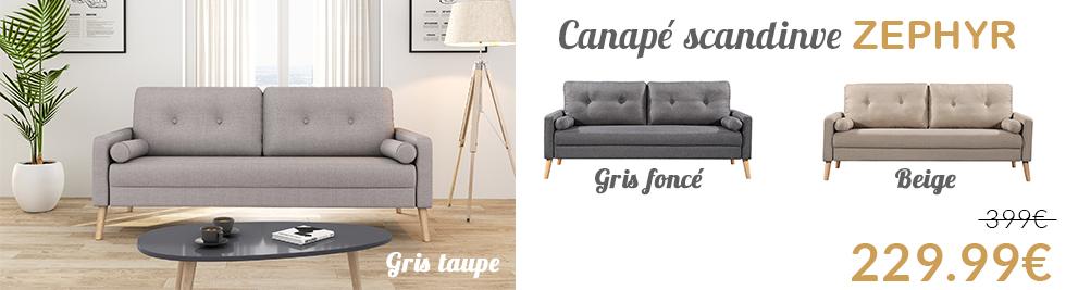 canap fixe - Magasin Canape Vannes