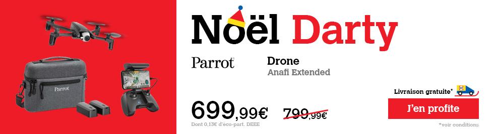 Acheter drone parrot 2.0 drone r'bird black master