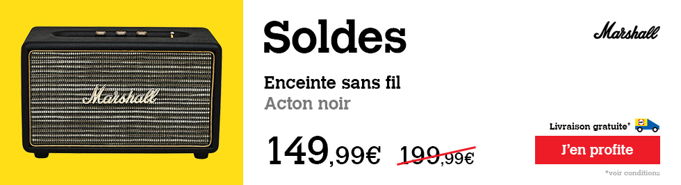 Soldes Marshall Acton