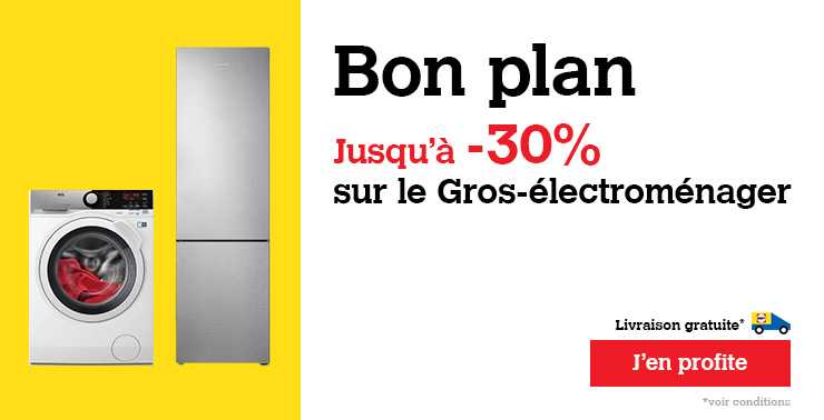 soldes gros electromenager carrefour