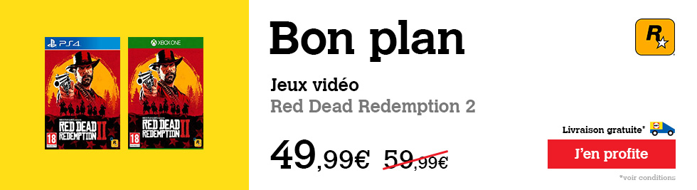 Bon Plan Red Dead Redemption 2