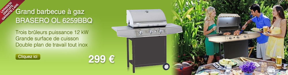 Grand barbecue Brasero