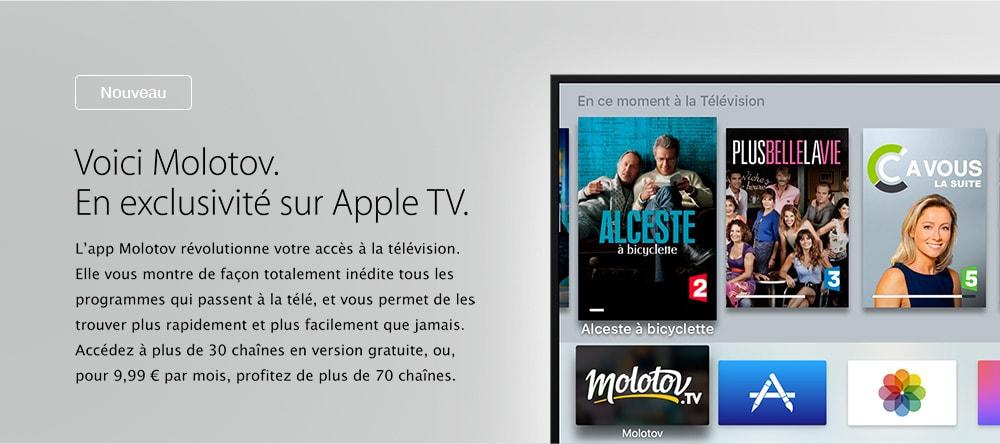 apple tv darty. Black Bedroom Furniture Sets. Home Design Ideas